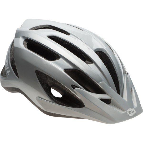 Bell Crest in mold kerékpáros sisak ezüst