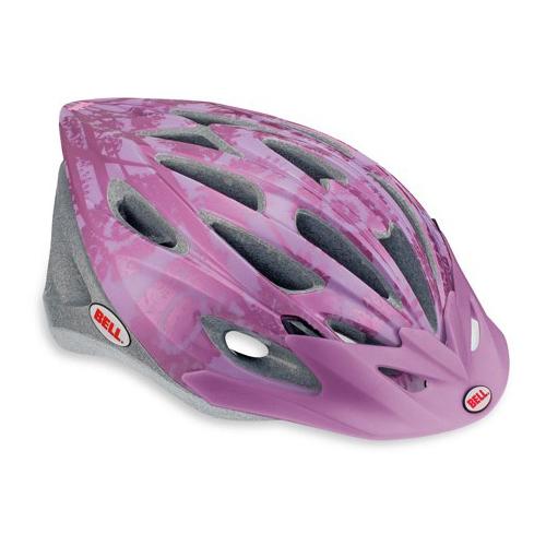Bell Vela in mold kerékpáros sisak pink