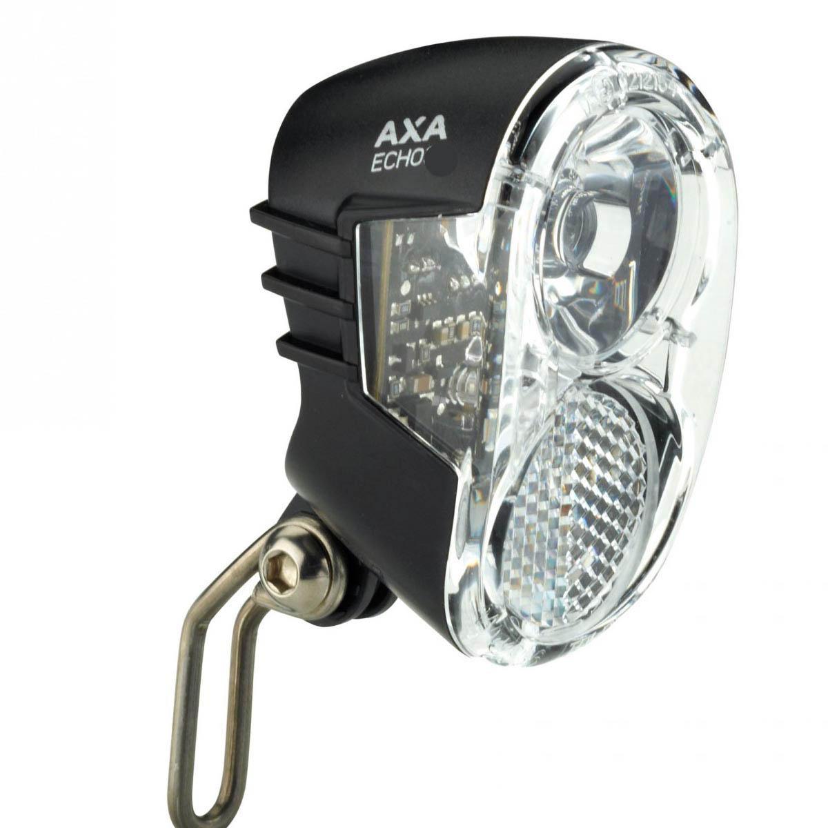 axa echo 15 ledes dinamós első lámpa állófénnyel_