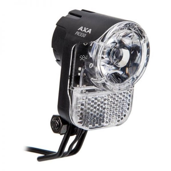 axa pico 30 ledes dinamós első lámpa állófénnyel