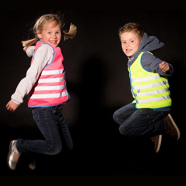 wowow fun jacket láthatósági mellény gyerek