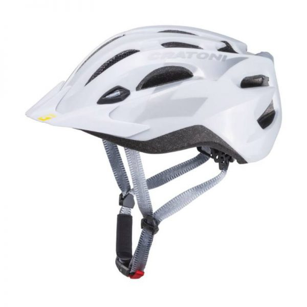 Cratoni C-streem kerékpáros bukósisak fényes fehér
