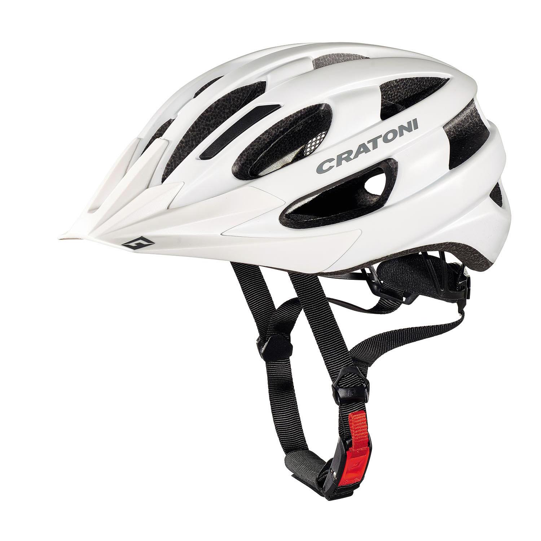 Cratoni Velon kerékpáros bukósisak fényes fehér