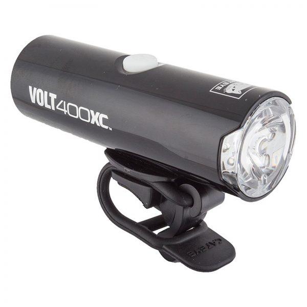 cateye volt 400 xc-akkumlátoros első lámpa usb