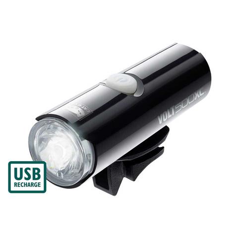 cateye volt 500 xc-akkumlátoros első lámpa usb