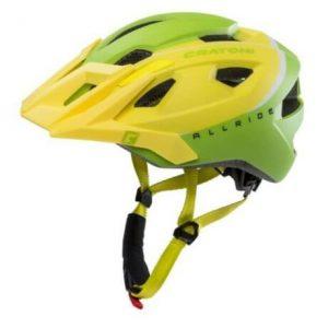 Cratoni AllRide MTB bukósisak, unisize (53-59 cm), sárga-zöld
