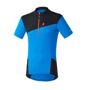 shimano touring jersey kerékpáros mez kék