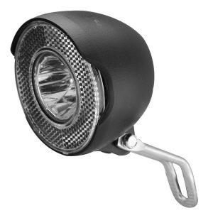 velotech 15 lux ledes dinamós első lámpa állófénnyel másolata