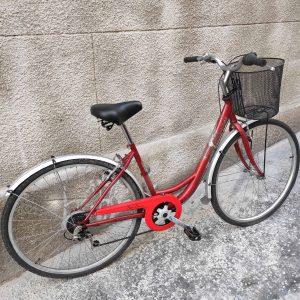 Hauser Swan női kerékpár piros